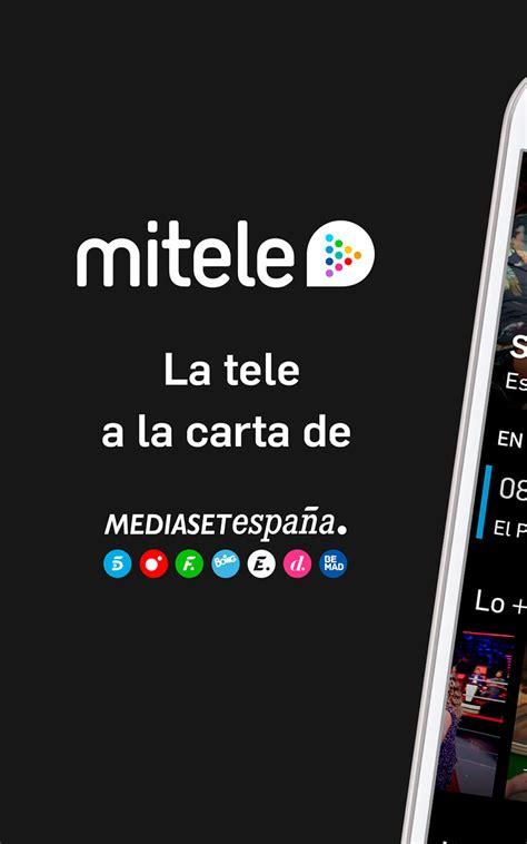 Mitele   TV a la carta: Amazon.es: Appstore para Android