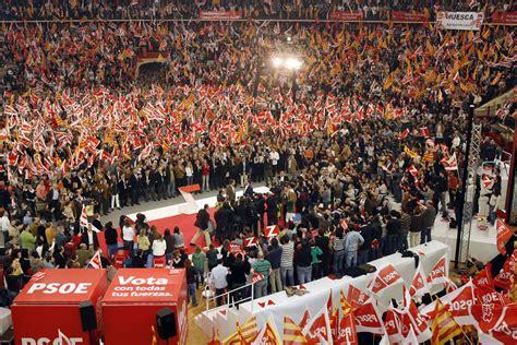 Mitin de Zapatero en Zaragoza   PSOE