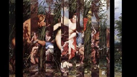 MITOLOGIA EN EL ARTE: Narciso, Sátiros y Ninfas   YouTube