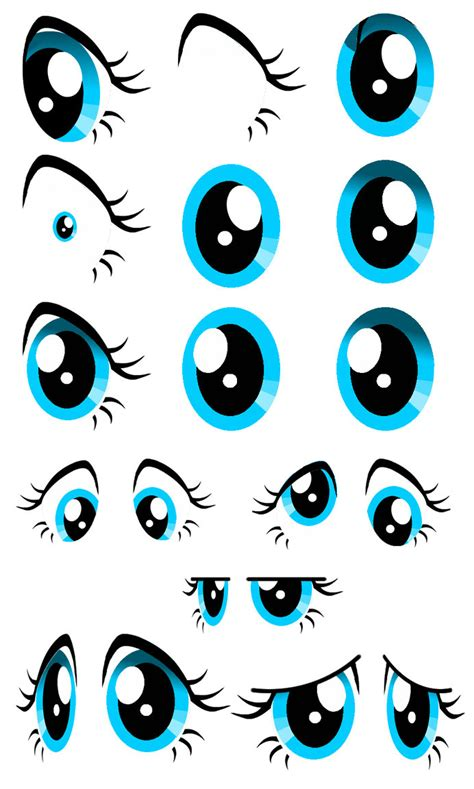 MLP Eye Template by xXxDorkyPandaxXx on DeviantArt