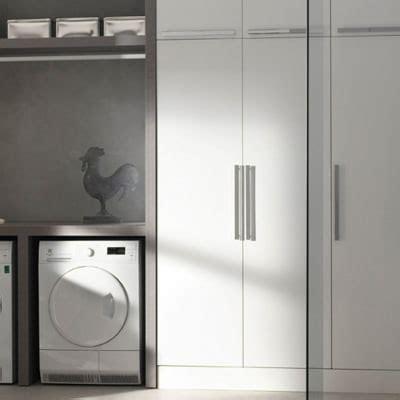 Mobile lavanderia bianco L 50 x P 37 x H 200 cm. Prezzo ...