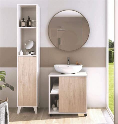 Mobiliario Baño Moderno Saina Lavabo Pedestal Pie Mueble ...