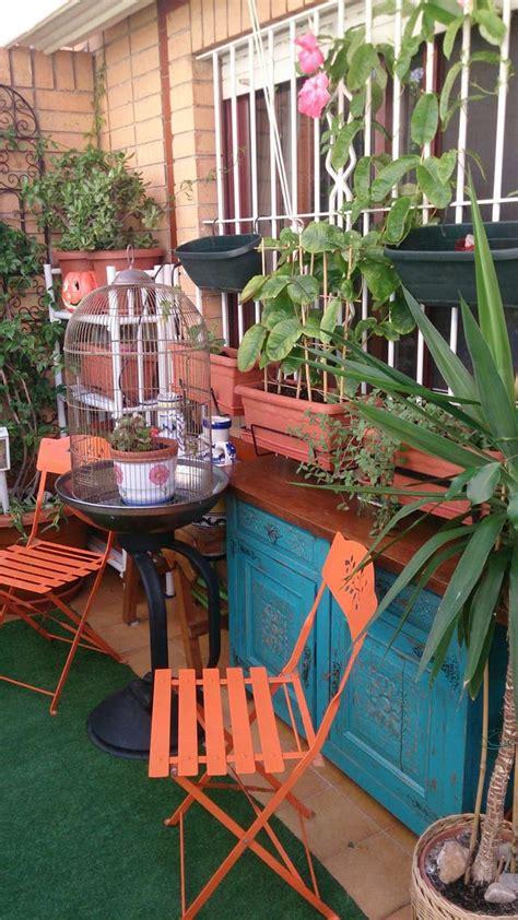 Mobiliario de jardín y terraza: jaula, hamaca. de segunda ...