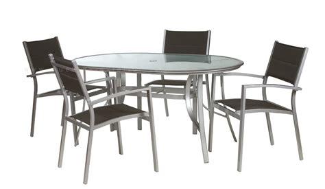Mobiliario de Terraza de aluminio