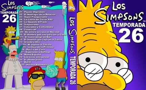 Mocho Varios: Los Simpson Temporada 26 [mega][latino][720p ...