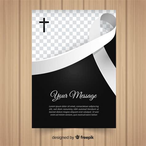 Modelo de cartão fúnebre | Baixar vetores grátis