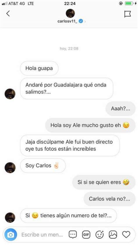 Modelo de Instagram hace público rechazo a Carlos Vela ...