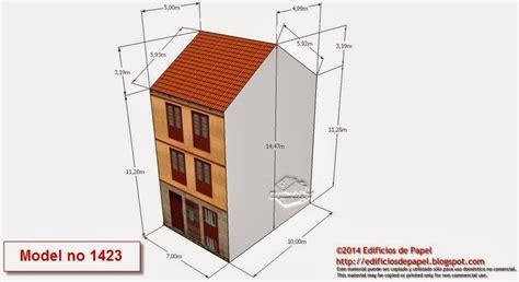 Modelos 1423 a 1427: Descarga gratis 27 Edificios de Papel ...