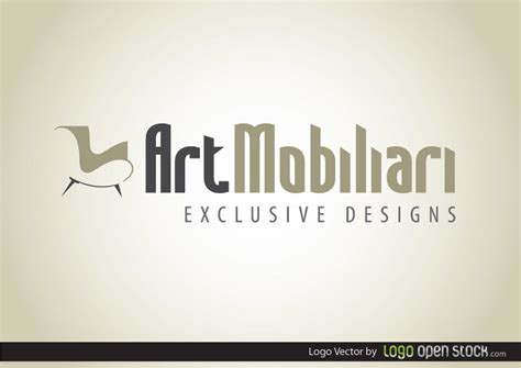 Modern Furniture Logo   Vector download