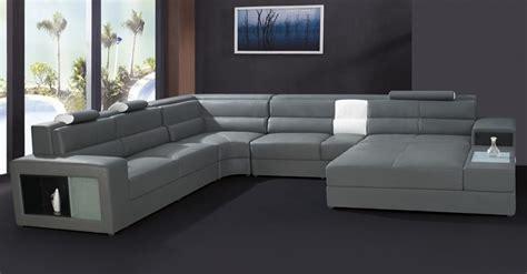 modern furniture sofa set leather sectional sofa home ...