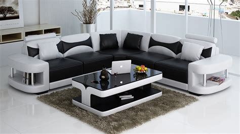 Modern italian style corner wooden sofa set designs 0413 ...