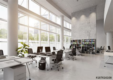 modern office building interior.   Buy this stock photo ...
