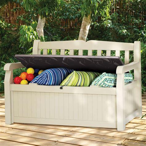 Modern Storage Bench Organizer for Outdoor Indoor Patio ...