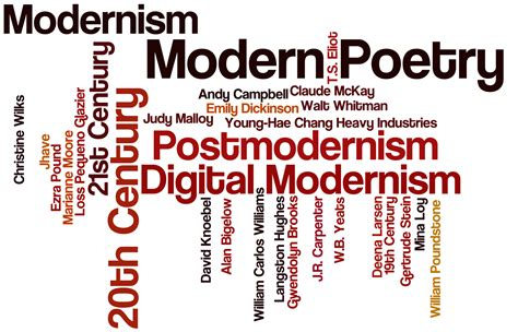 Modernism Poems