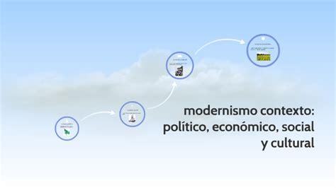 modernismo contexto politico, economico, socialy cultural ...