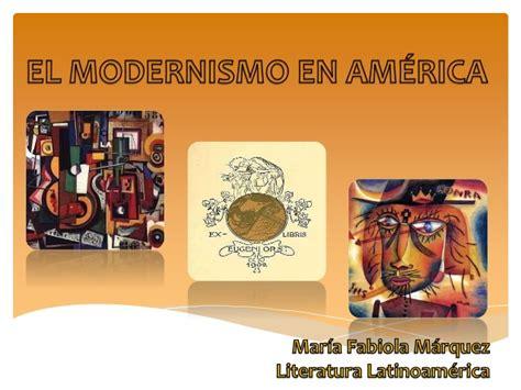 Modernismo   María márquez