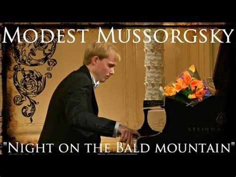 Modest Mussorgsky, Night on Bald mountain + SCORES  piano ...