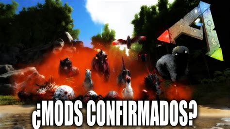 MODS EN XBOX ONE CONFIRMADOS AL 100% | Ark: Survival ...