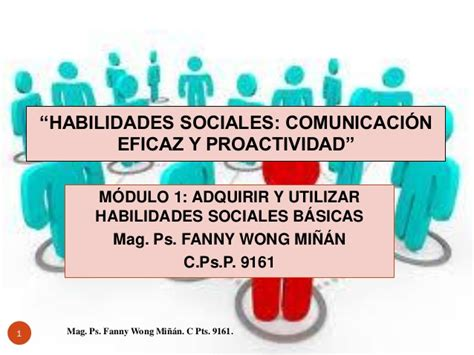 MODULO 1 HABILIDADES SOCIALES POR FANNY JEM WONG