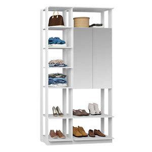 Módulo Closet 1 Armário C/ Espelho Clothes – Be Mobliário ...
