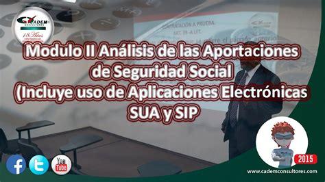 Modulo II Análisis de las Aportaciones de Seguridad Social ...