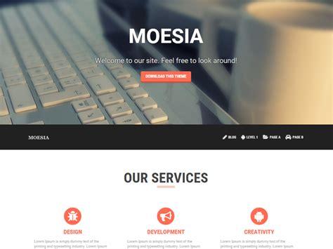 Moesia   Plantilla para WordPress   Kiebrakokos