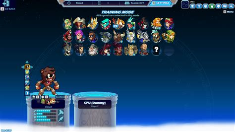 Mogar is also in Brawlhalla. Another video maybe ...