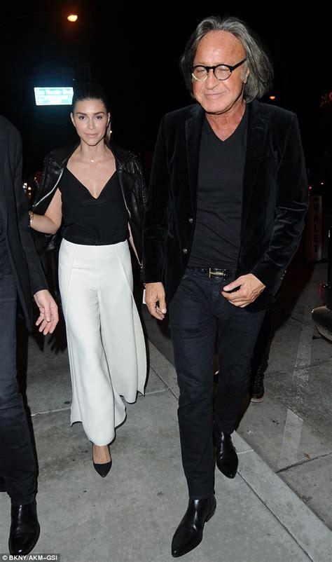 Mohamed Hadid enjoys date night with fiancée Shiva Safai ...