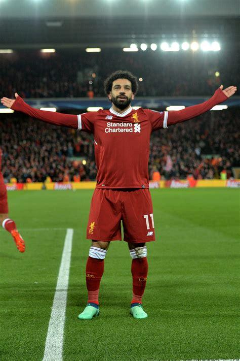Mohamed Salah. Jogador do Liverpool é rei no campo e ...