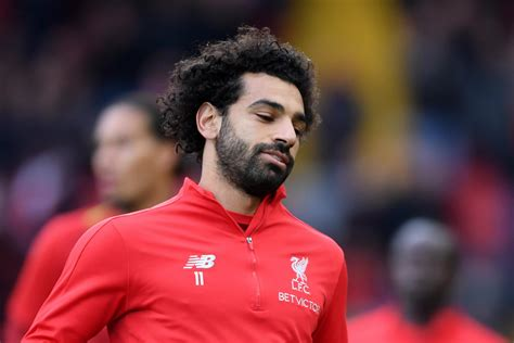 Mohamed Salah returns to Liverpool with injury suffered on ...