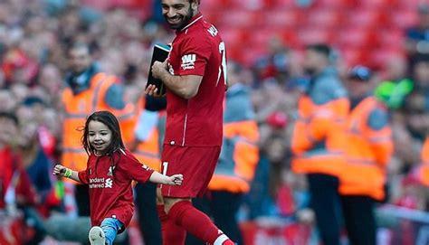 Mohamed Salah: Viral: Hija del crack egipcio se roba el ...