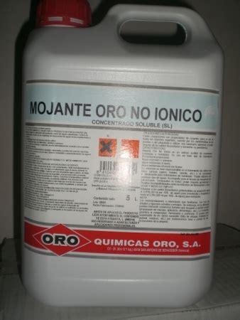 MOJANTE ORO NO IONICO  5 l. .   Fitoagrícola
