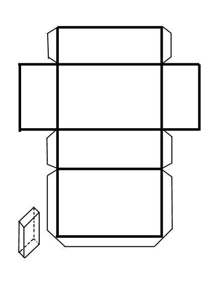 Moldes para armar cuerpos geometricos   Imagui