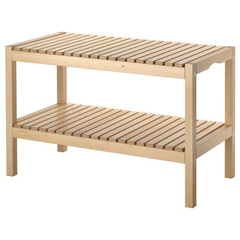 MOLGER Banco, abedul   IKEA