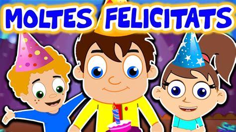 MOLTES FELICITATS   Cançó de feliç aniversari per a nens ...