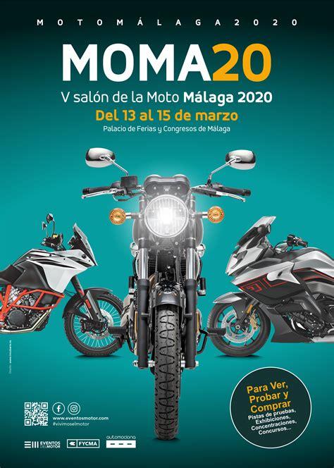 MOMA 2020 – V Salón de la moto en Fycma Málaga APLAZADO ...
