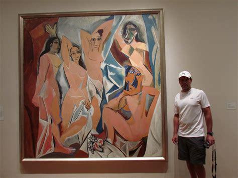 MOMA: Las señoritas de Avignon, 1907. Obra del pintor ...