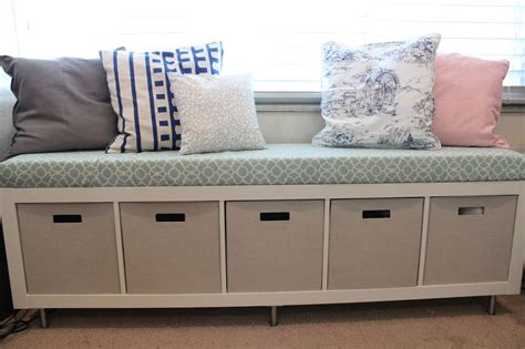 Mommy Vignettes: Ikea Window Bench Storage Containers