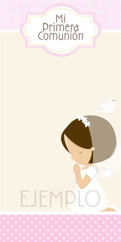 Moms Angels: Tarjetas Primera Comunión para niña ...