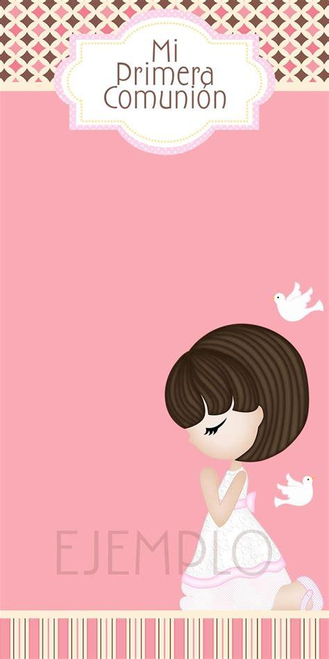 Moms Angels: Tarjetas Primera Comunión para niña | Primera ...