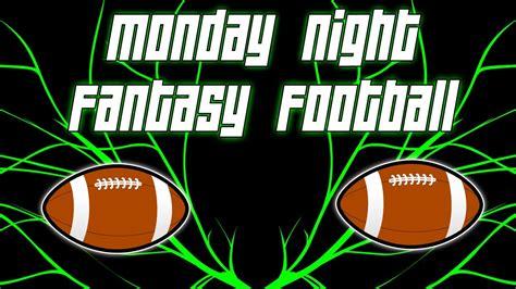 Monday Night Fantasy Football [MNFF]   My Draft + Keepers ...