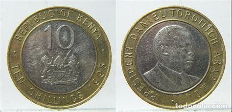 moneda de kenia 10 shilling 1995 bimetalica   Comprar ...