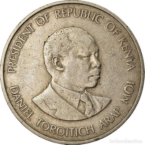 moneda, kenia, shilling, 1980, british royal mi   Comprar ...