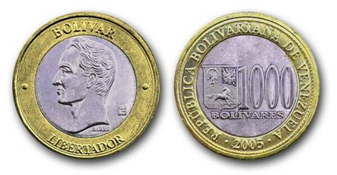 Monedas de Venezuela on Twitter:  1era moneda Bimetalica ...