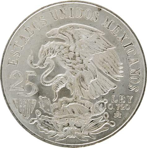 Monedas del siglo XX, plata, Banco de México | Numismática ...