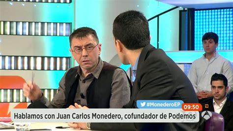 Monedero discute con todos los colaboradores de Espejo Público