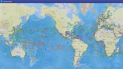 Monitoring global ship traffic   Geoawesomeness