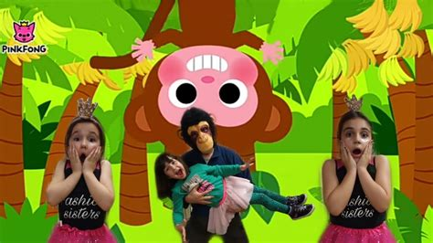 Monkey Banana Dance | Baby Monkey | Dance Along | Pinkfong ...