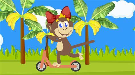 Monkey Banana Dance   Baby Monkey   Dance Along   rainbow ...
