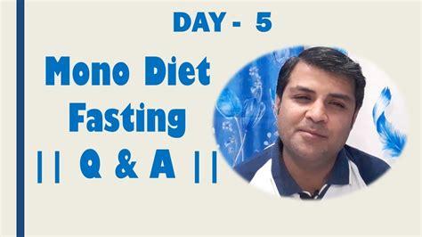 Mono Diet Fasting   YouTube